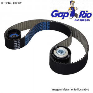 Kit da Distribuição Renault Megane/Grand Tour 2.0 16v 05/...